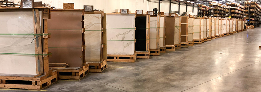 Stonepeak first tile manufacturer of large porcelain slabs