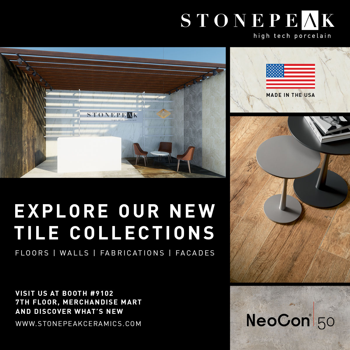 Visit us @ NeoCon Chicago