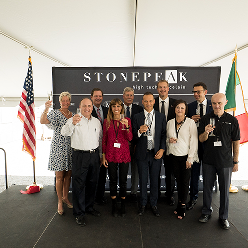 Stonepeak Ceramics opens new production line in tennessee location
