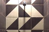 SHOWER WALL DECORATIVE TILE