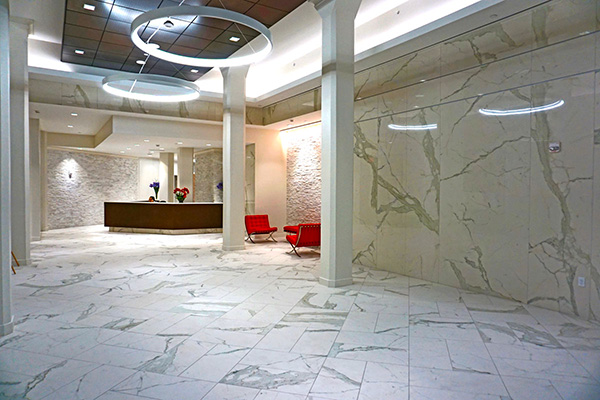 Project Office Lobby Stonepeak American Floor Tile