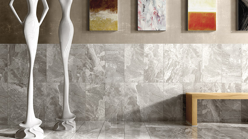 Bardiglietto Classic Collection Stonepeak American Floor Tile