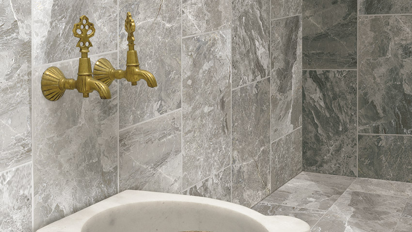 Bardiglietto Classic Collection Stone Marble Tile Look